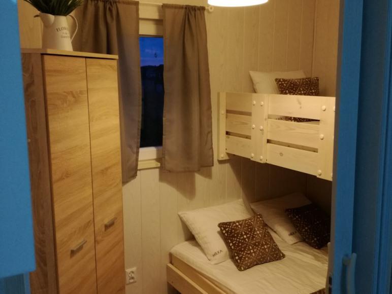 sypialnia w domku Milka2