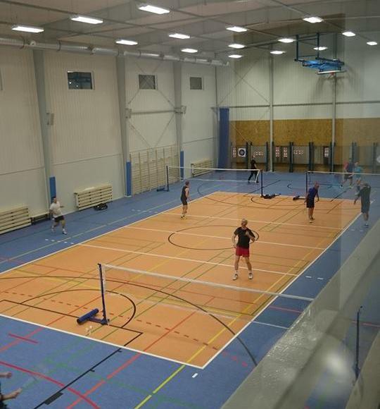 sala sportowa w budynku