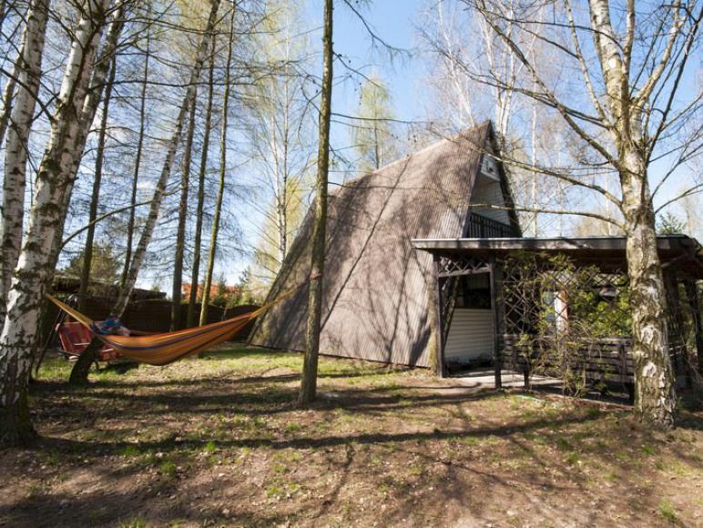 Halunia - domek nad jeziorem Głuszyńskim