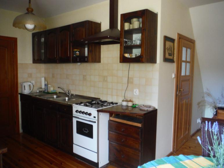 Kuchnia - duży apartament