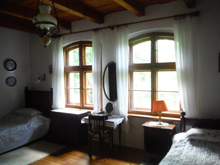 Dom pod Modrzewiem - sypialnia