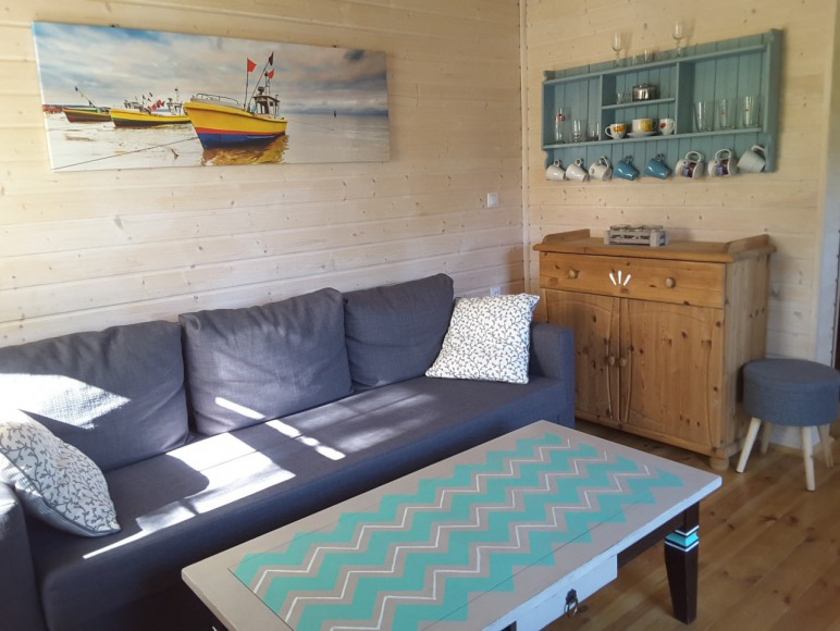 Salon w domku zielonym