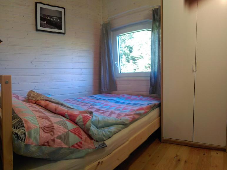 Sypialnia I w domku