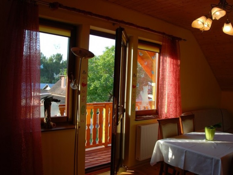 Pokój 4 osobowy z balkonem