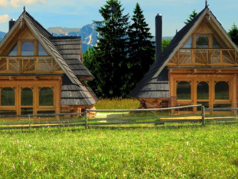 Domki z kominkiem na max 6 osób