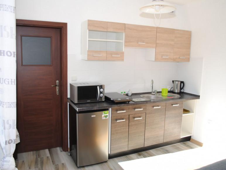 pokój delux - kuchnia