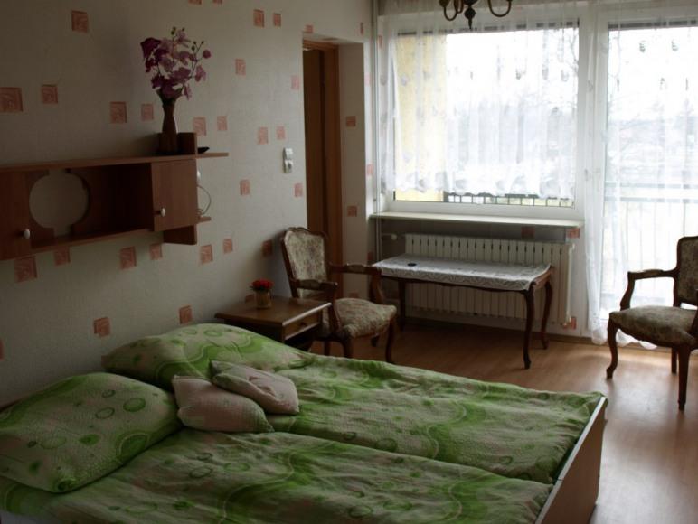 Pokój nr 3 dwuosobowy z balkonem