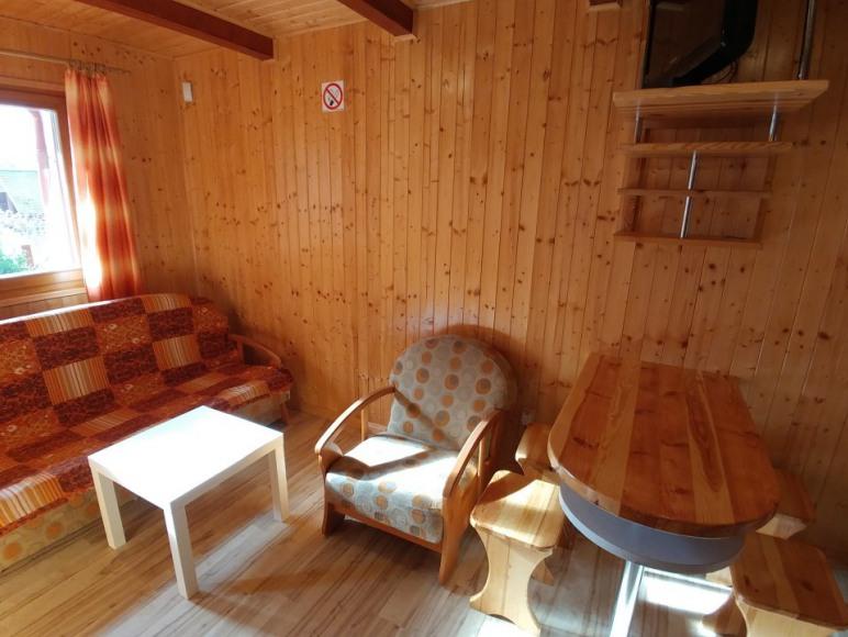 salon z kanapą rozkładaną