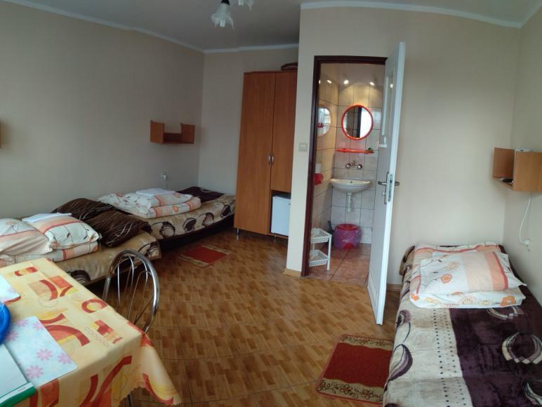 pokój 3,4 osob.