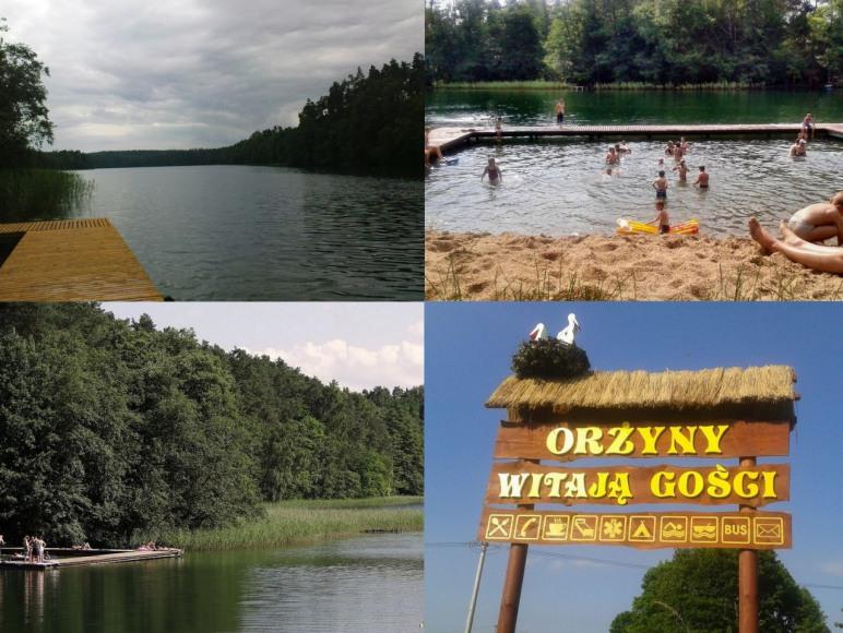 Mazury,domek nad jeziorem