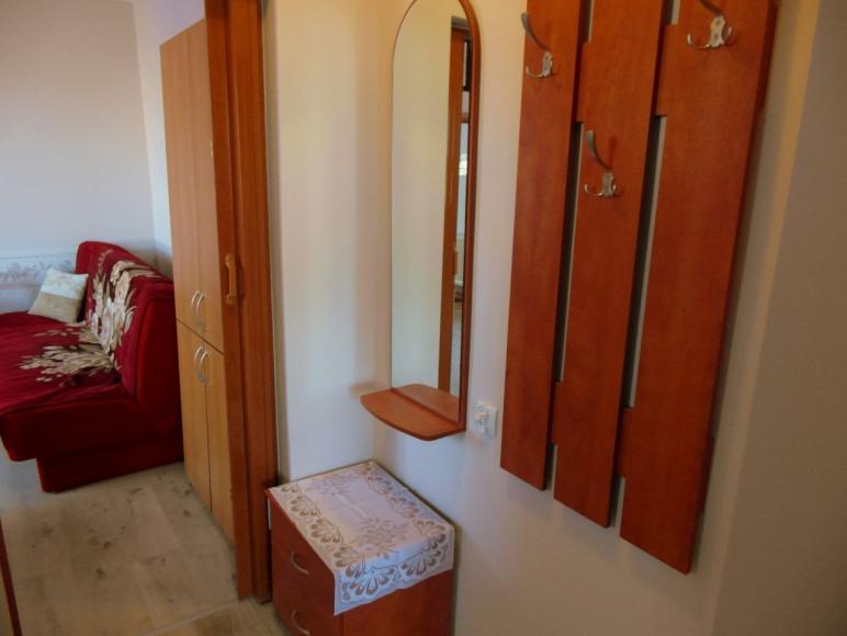 Korytarzyk w Apartamencie nr 1 pomiędzy pokojem czerwonym i niebieskim :)