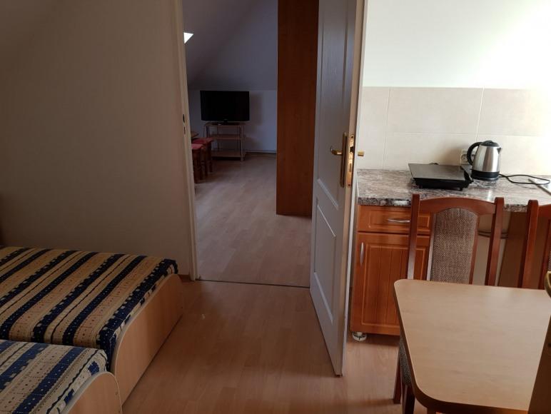 Apartament side 2-pokoje z łazienką, do 5 osób, z aneksem kuchennym
