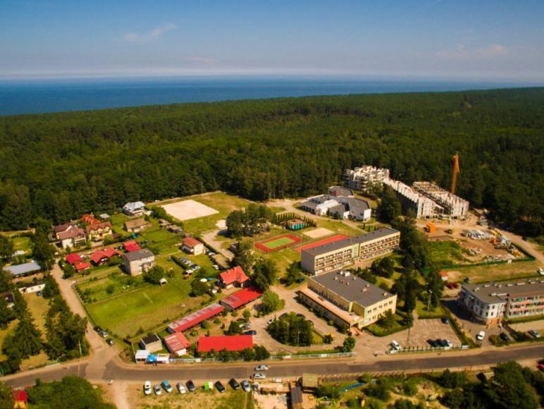 Wiking Ośrodek widziany z drona