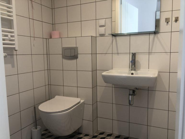 Łazienka parter bud hotelowy