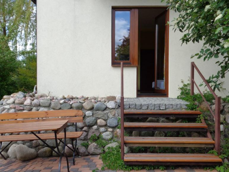 Pokój nr 1, 2 - wyjście do ogrodu