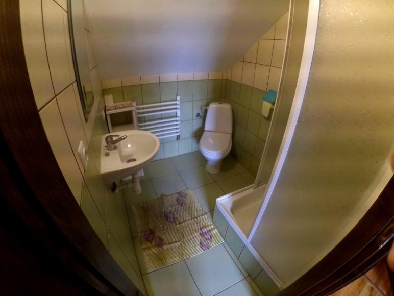 Łazienka w 2 domku