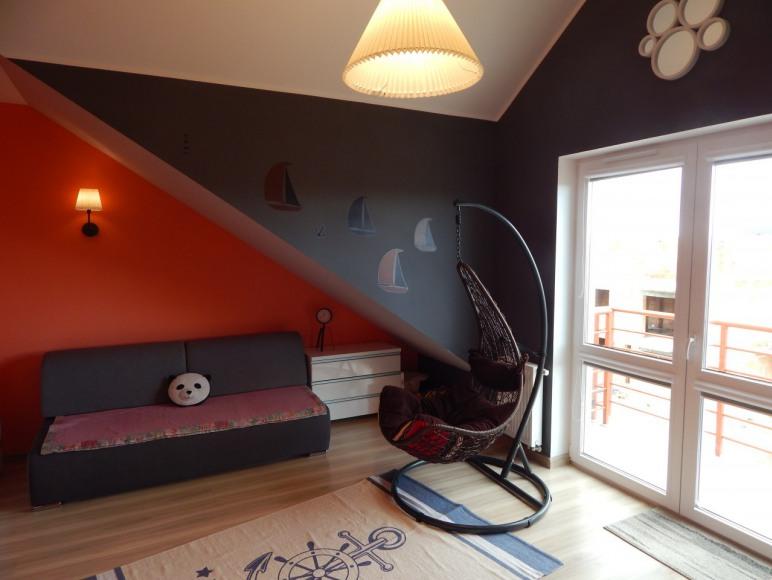 Sypialnia-wyjście na taras