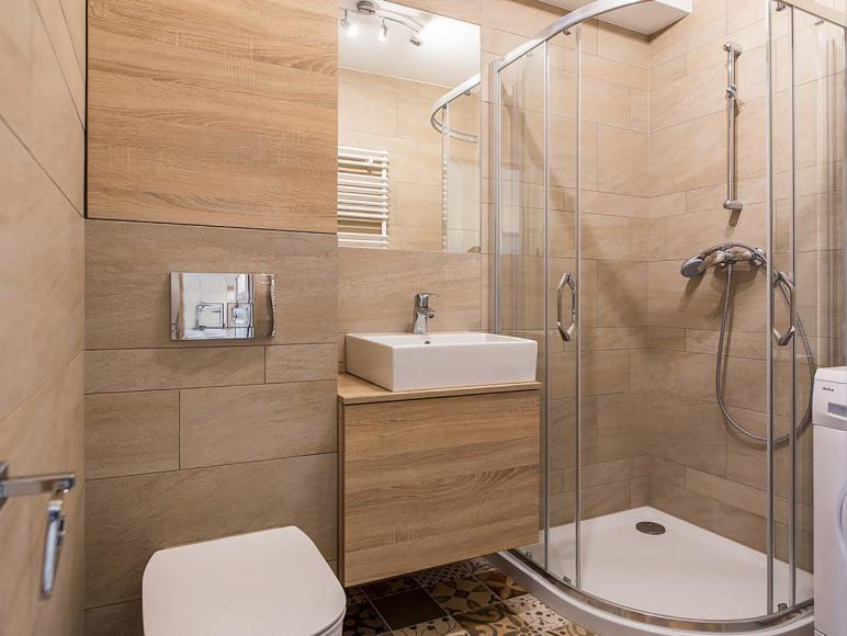 łazienka - apartament typu studio