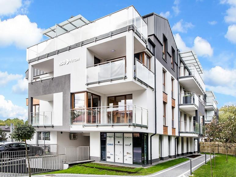 budynek - apartament typu studio