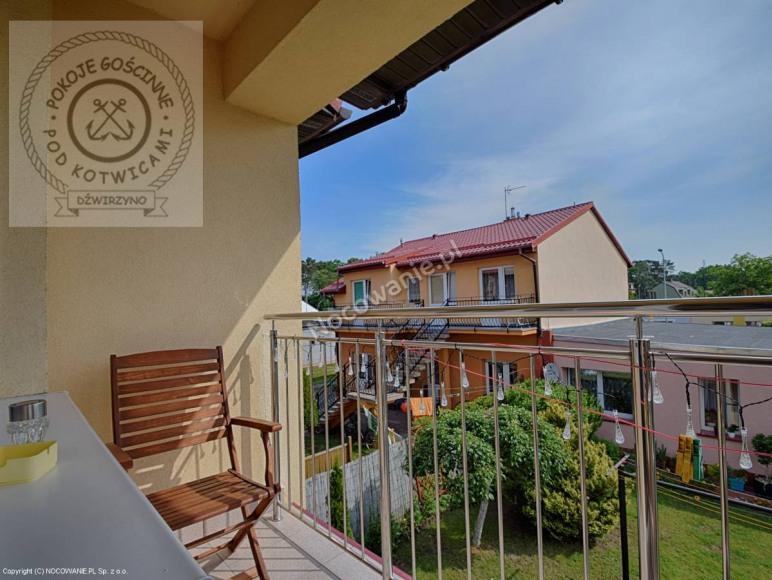 Apartament 2 osobowy z łazienką i balkonem