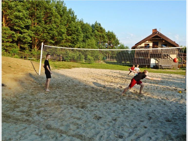 Siatkówka plażowa w Żurawińcu