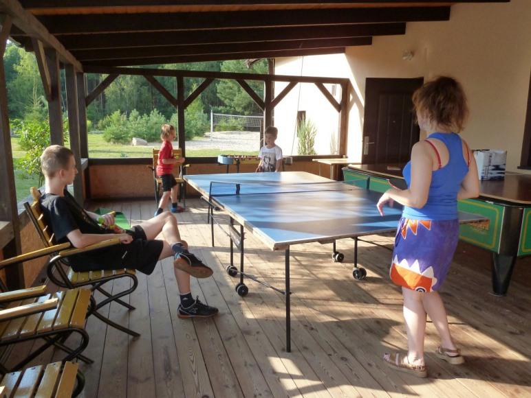 Ping- pong w Żurawińcu
