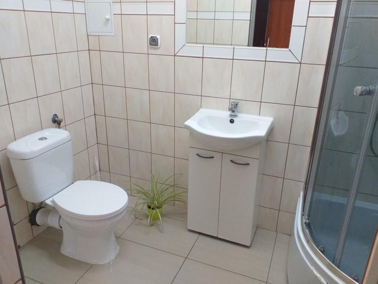 Każdy pokój ma własną łazienkę