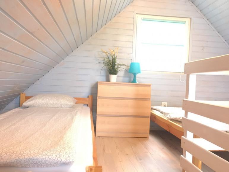 Sypialnia piętro domek 4-6 osobowy