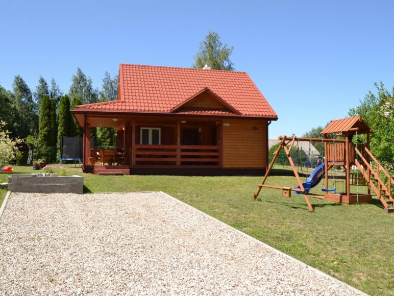Mazury dom letniskowy jezioro Szóstak Orzechowo