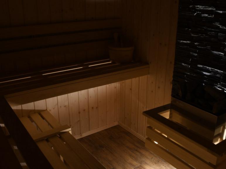 strefa SPA sauna sucha