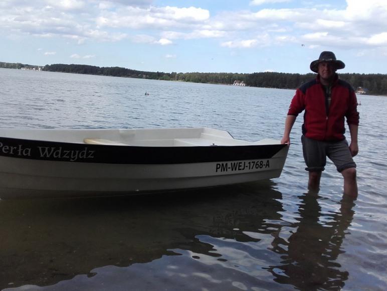 Do dyspozycji Gości łódź wiosłowa