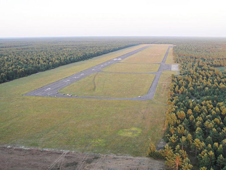 Lotnisko w Borsku