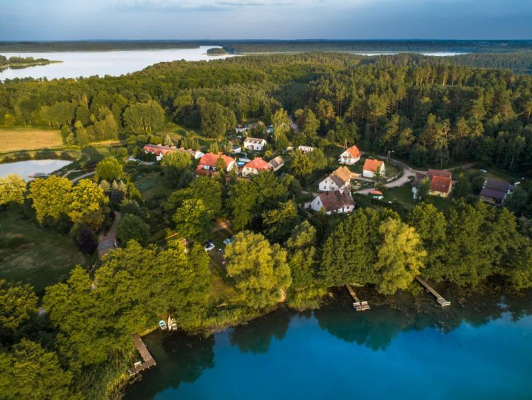 Widok na jedno z naszych jezior