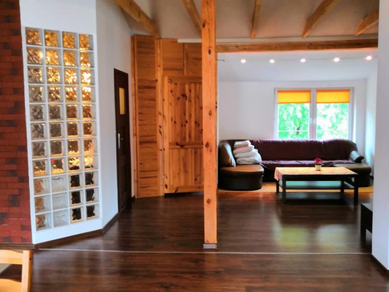 Salon apartamentu loft