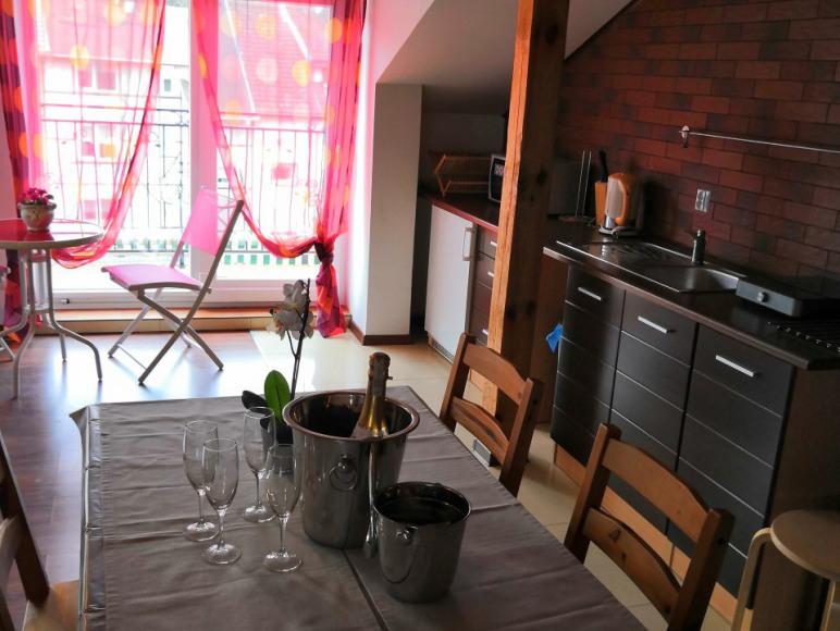 Aneks kuchenny apartamentu loft