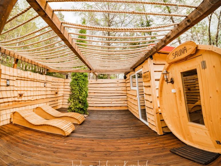 SPA 2020, Sauna, jacuzzi