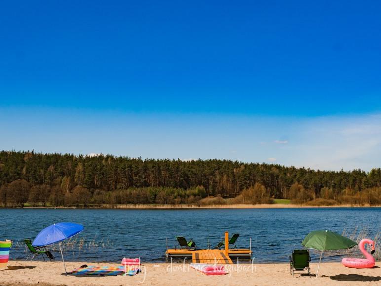 Plaża 300 metrów od domków