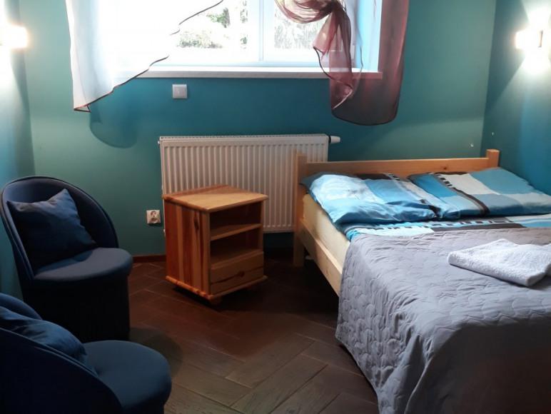 pokój błękitny
