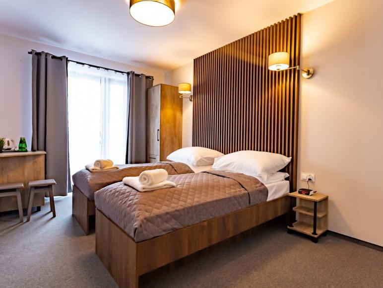 Komfortowy pokoj dwuosobowy z widokiem