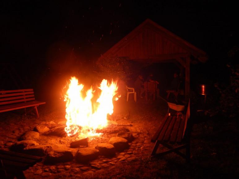 wieczory przy ognisku