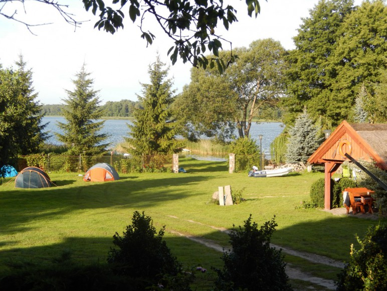 miejsce na namioty