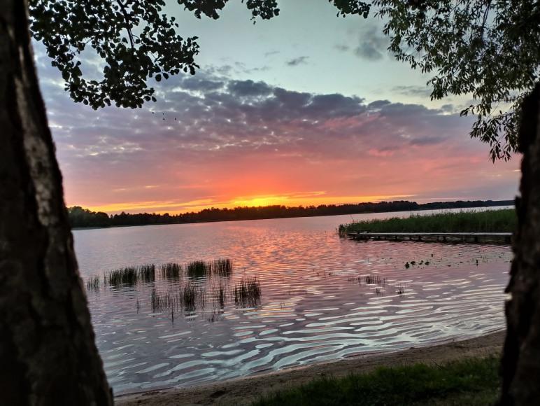 Piękne zachody słońca