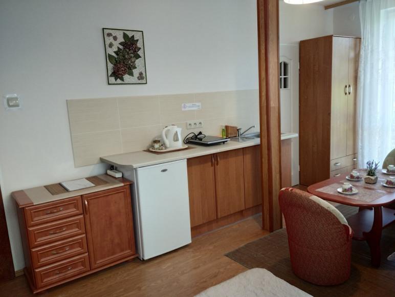 pokój nr 2 (4 os z łazienką, aneksem kuchennym balkonem)