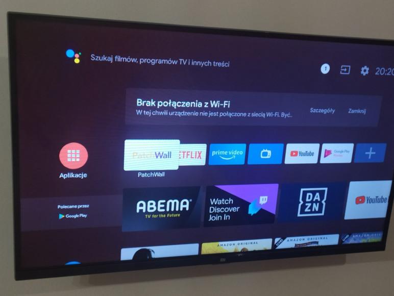 Nowy TV z vifi