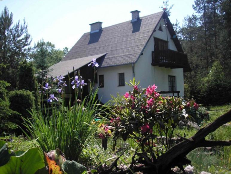 Kaszuby dom nad jeziorem Bartoszylas