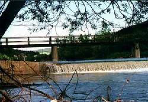 Rzeka - odległość 50 m