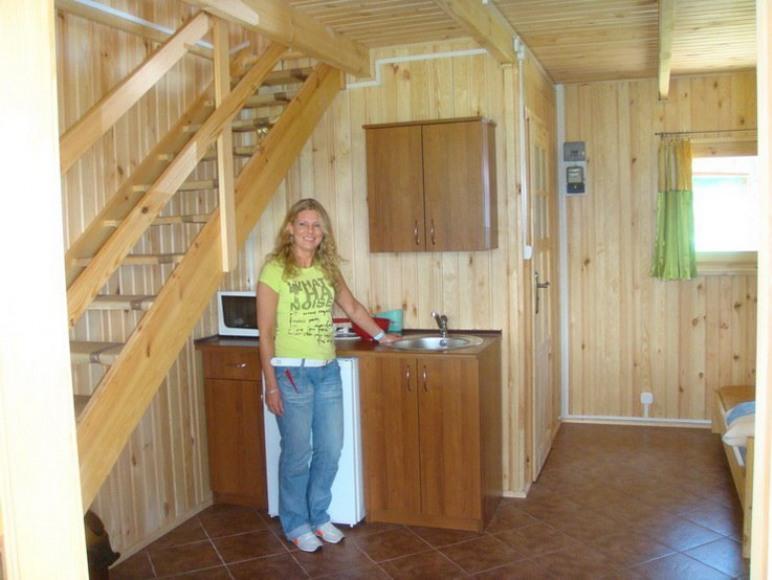 pokoj z aneksem w nowym domku
