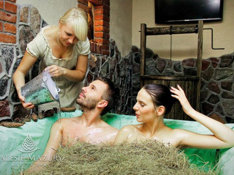 SPA - kąpiel w sianie