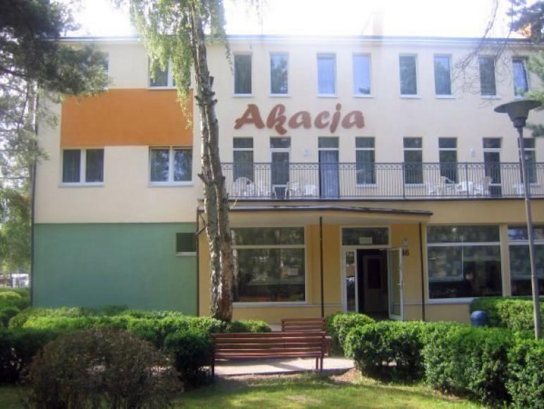 Ośrodek Akacja - budynek główny