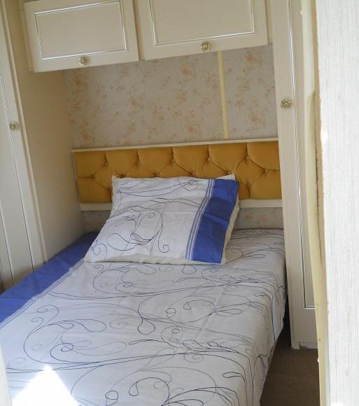 sypialnia w domku holenderskim